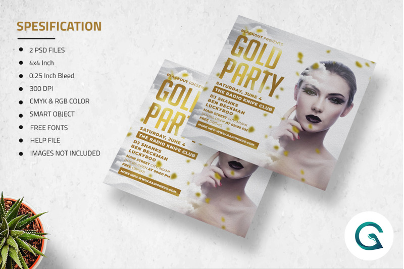 gold-party-flyer-template
