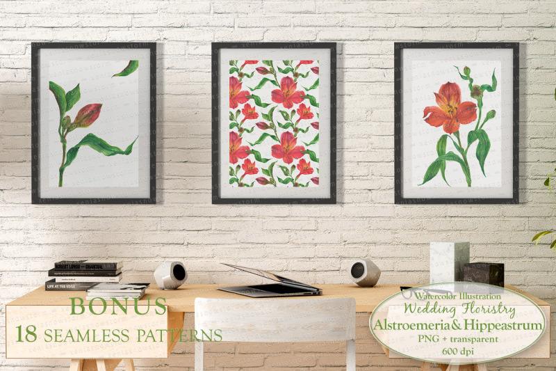 alstroemeria-amp-hippeastrum-base-elements-for-wedding-floristry