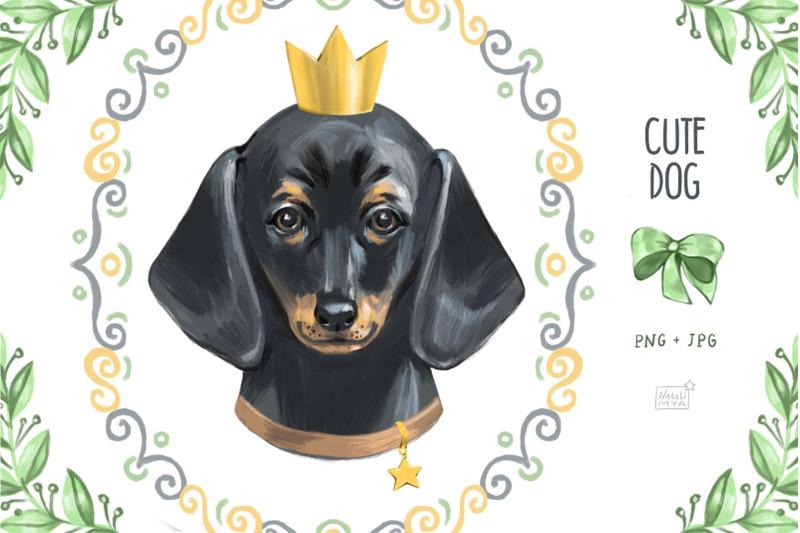 cute-dog-dachshund-clipart