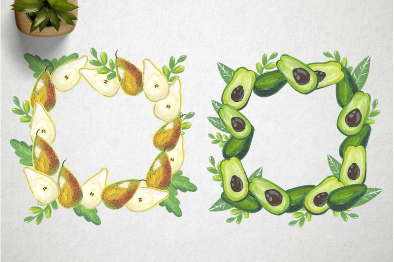 watercolor-sweet-fruits