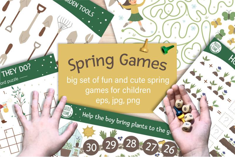 spring-games