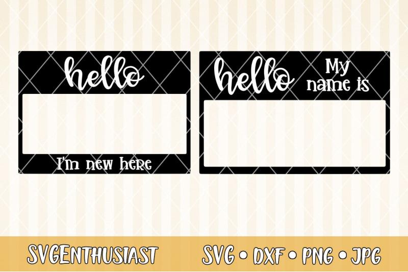 name-tag-svg-cut-file
