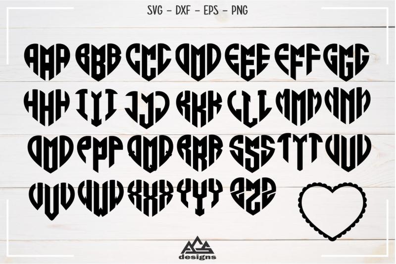 love-heart-alphabet-monogram-svg-design