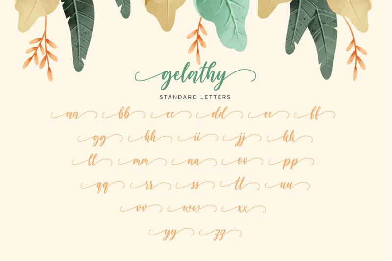 gelathy-bonus-2-font