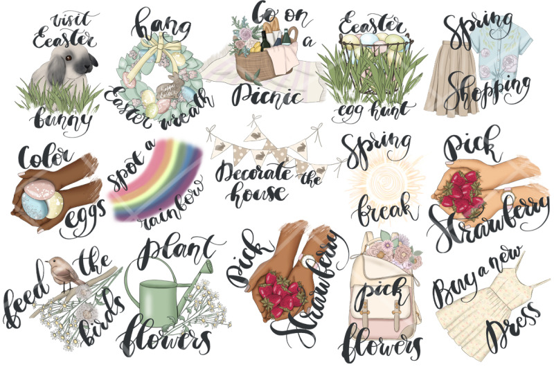 spring-planner-icons