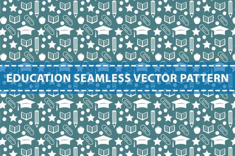 education-seamless-vector-pattern