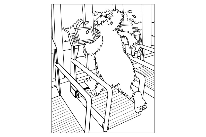 bigfoot-on-the-treadmill