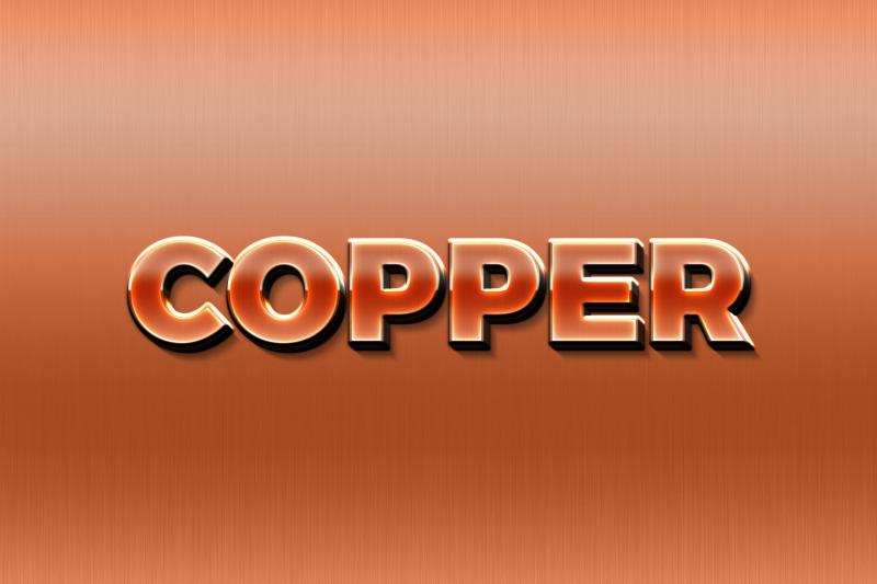 copper-3d-text-effect-template