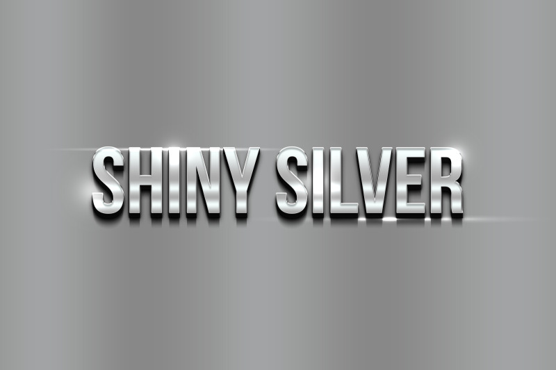 shiny-silver-3d-text-effect-template