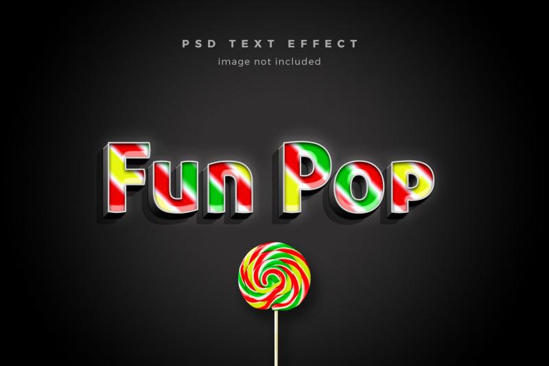 fun-pop-3d-text-effect-template