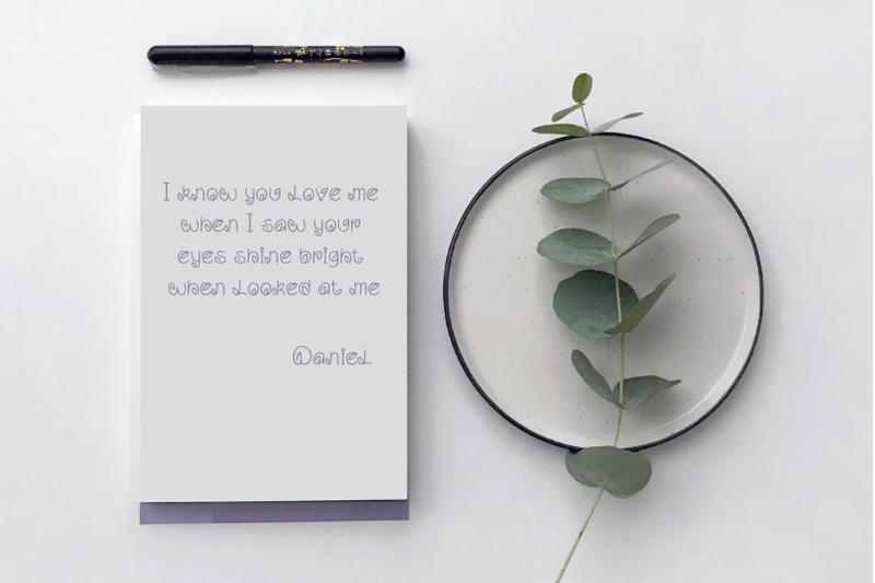 leaf-handwritten-font