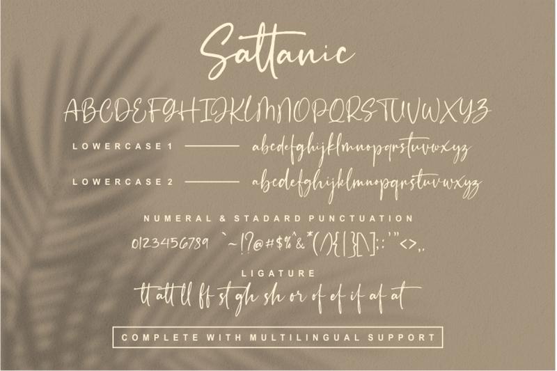 sattanic-old-signature-typography-font