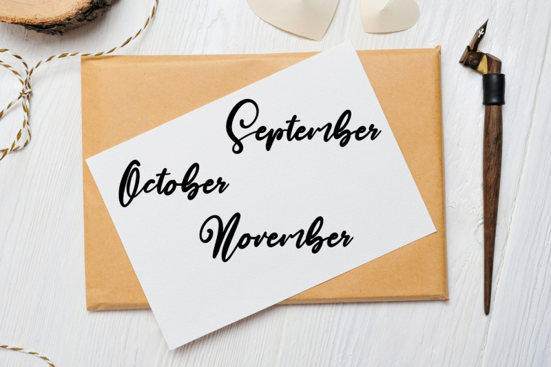 brush-handdrawn-scripts-months-clip-arts-scripts-names-of-months-font