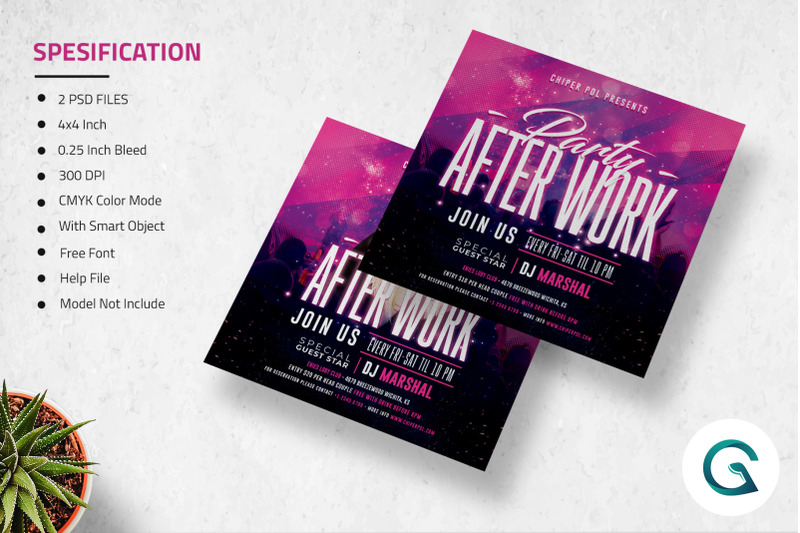 after-work-flyer