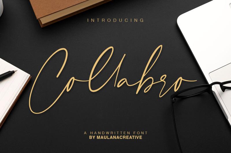 collabro-signature-font