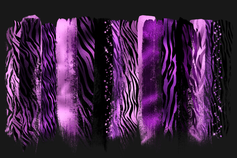 purple-tiger-brush-strokes