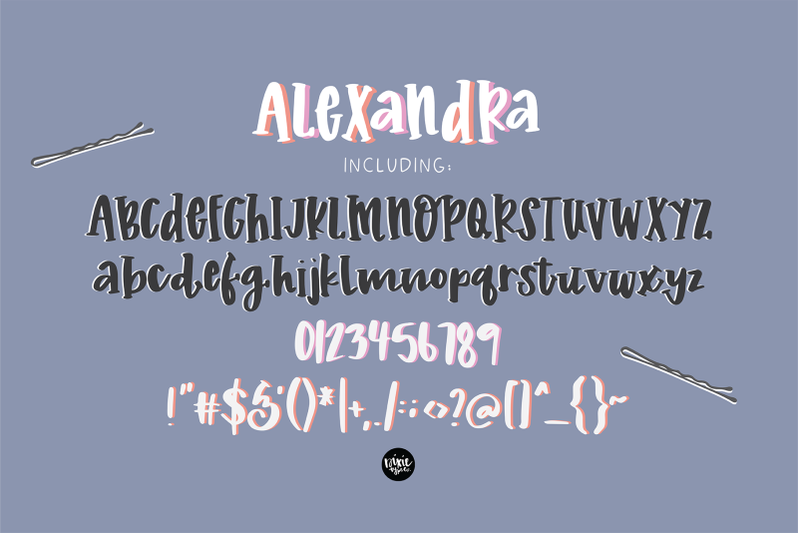 The Playful Font Bundle By Thehungryjpeg Thehungryjpeg Com