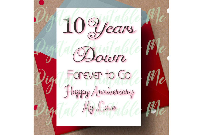 10th-anniversary-card-printable-tenth-anniversary-card-10-year-anniv