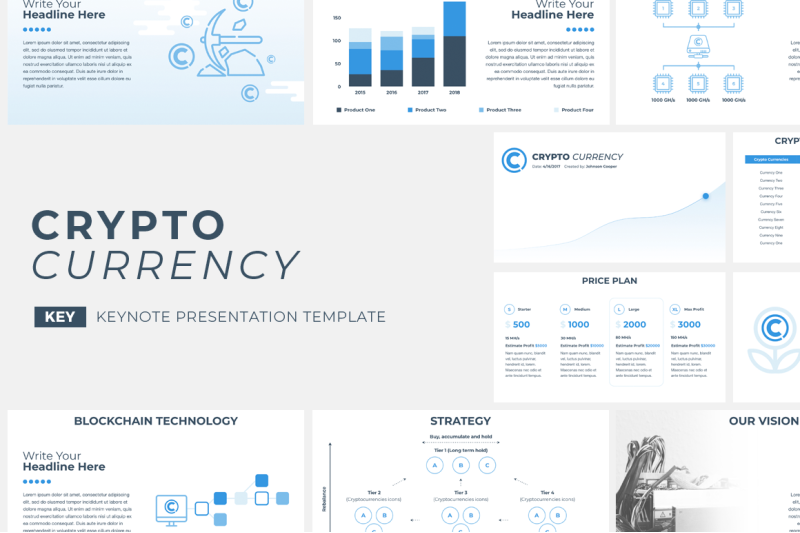 cryptocurrency-keynote-template