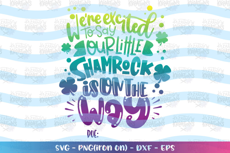st-patrick-039-s-day-svg-pregnant-expecting-baby-reveal-maternity