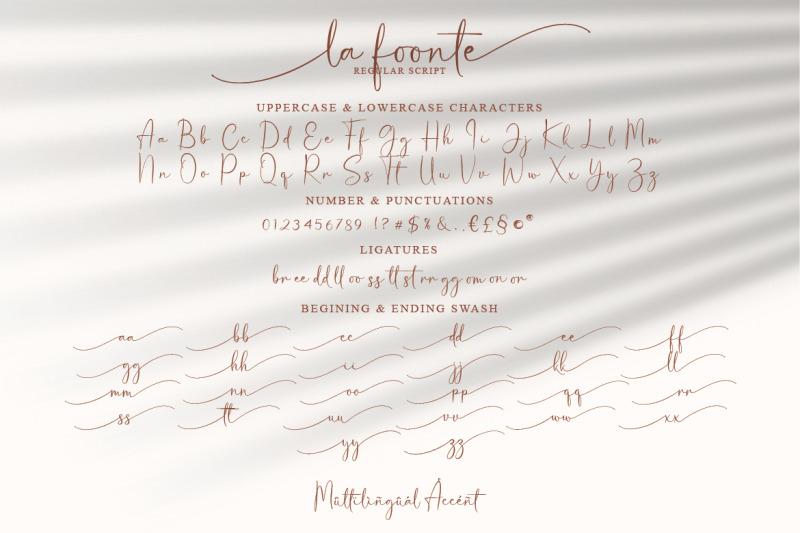 la-foonte-sans-script-font-duo