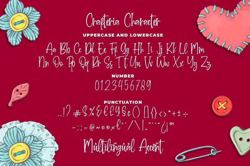 crafteria-script-font