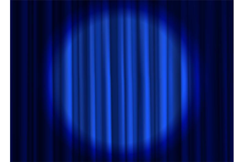 stage-blue-curtain-theatrical-or-cinema-cloth-luxury-silk-elegant-clo