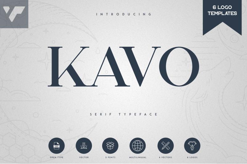 kavo-serif-typeface-5-weights