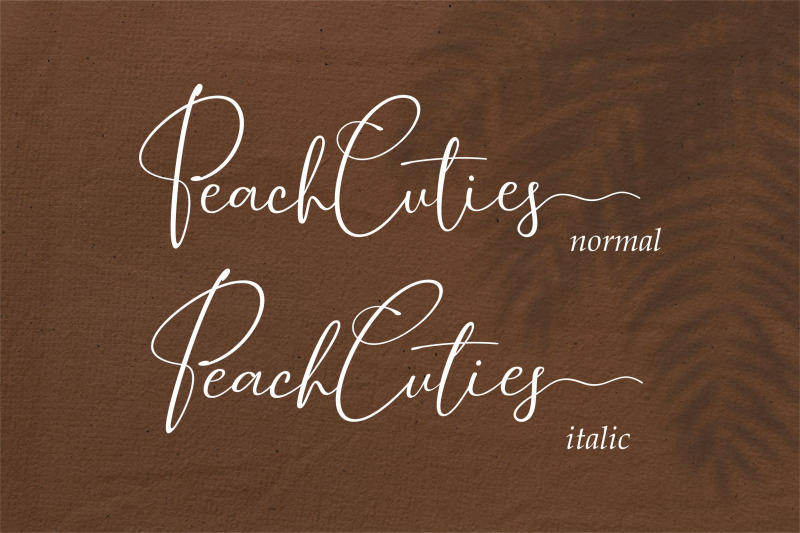 peach-cuties-luxury-signature-font