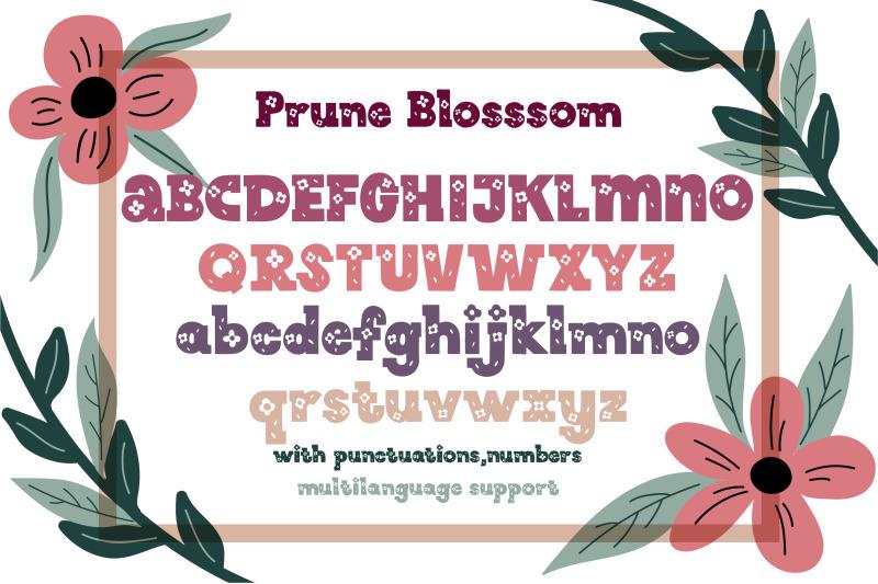 prune-blossom