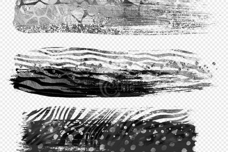silver-safari-brush-strokes