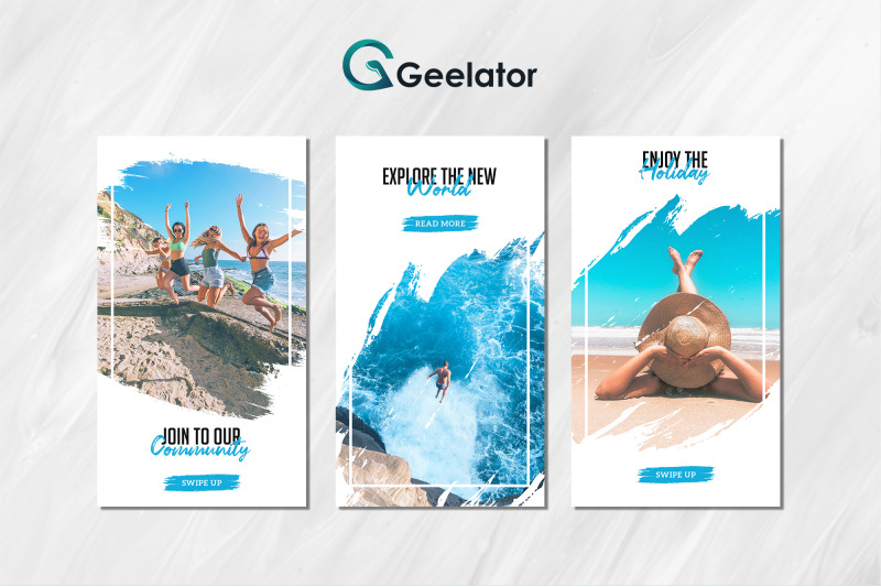 beach-instaram-stories-template