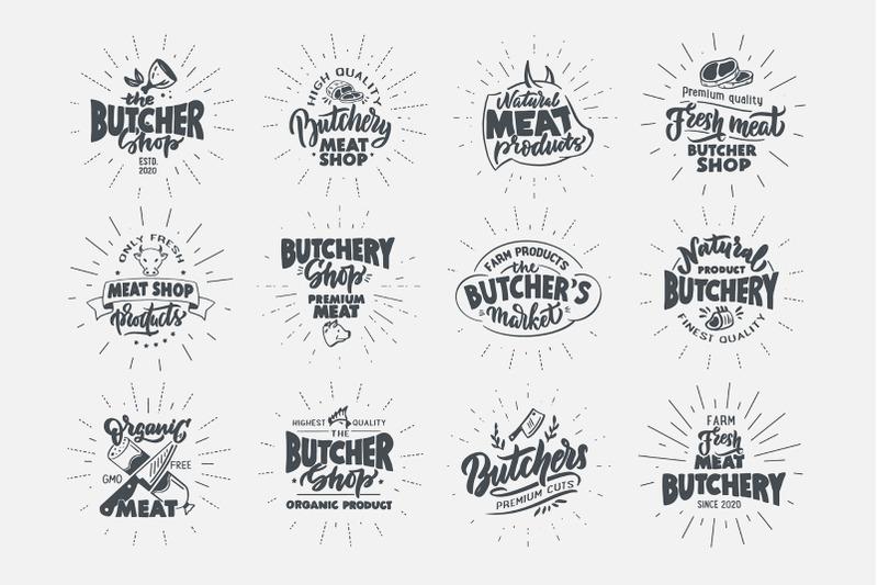 set-of-retro-butchery-badges