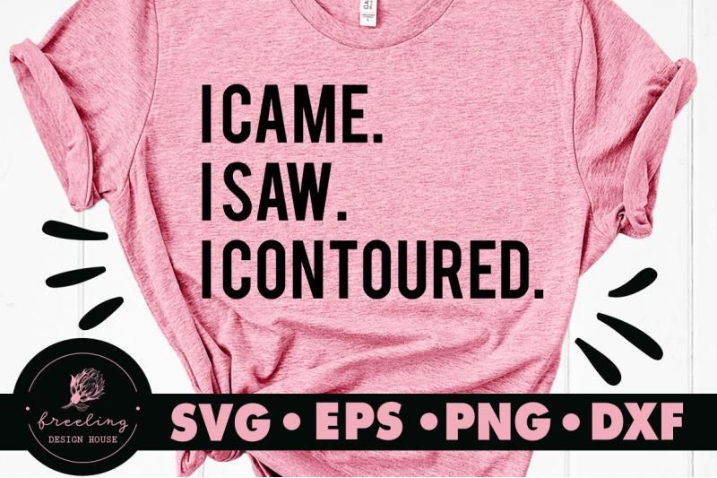 i-came-i-saw-i-contoured-svg