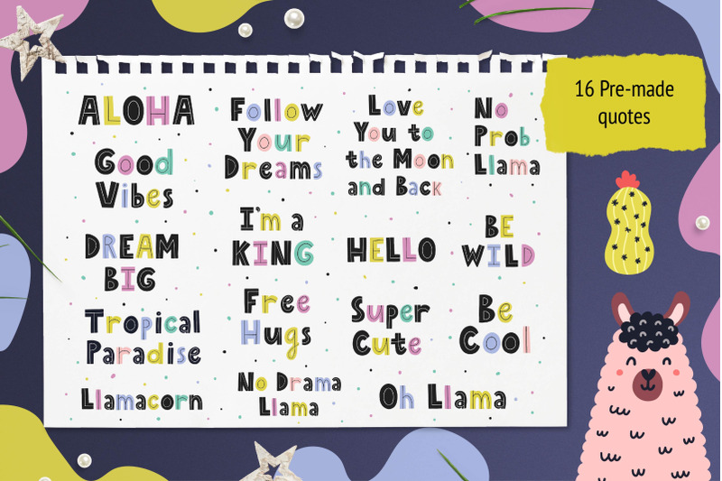oh-llama-graphic-pack