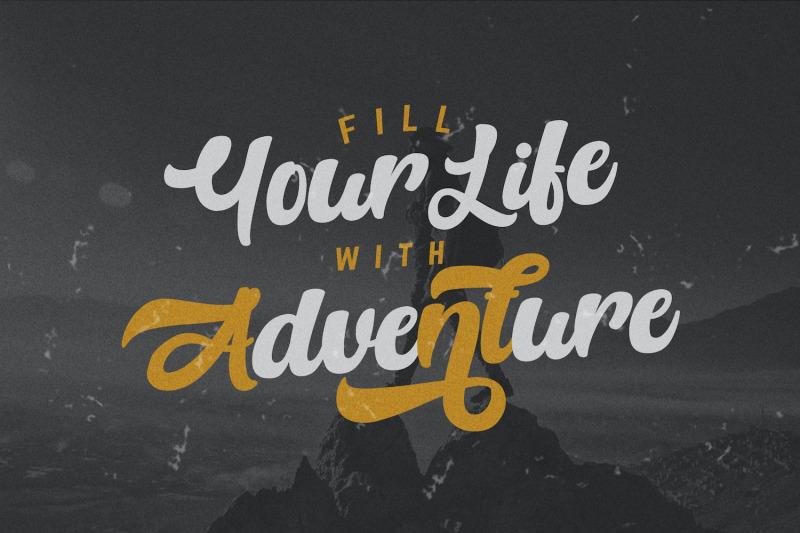 anhattan-retro-bold-script-font