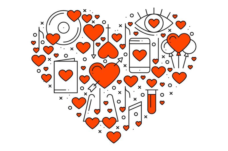 heart-shape-love-elements-amore
