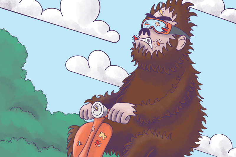 bigfoot-on-a-scooter