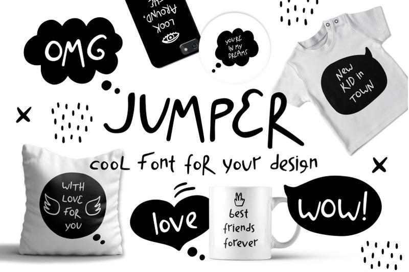 jumper-cool-font