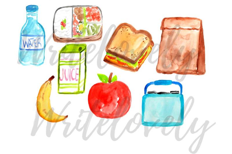 watercolor-lunch-clip-art