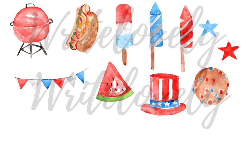 watercolor-forth-of-july-clip-art