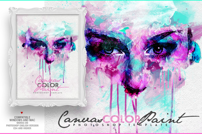 canvas-color-paint-photo-template