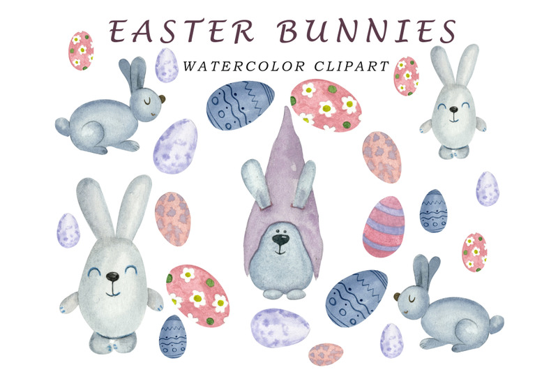 easter-clipart-watercolor-bunny
