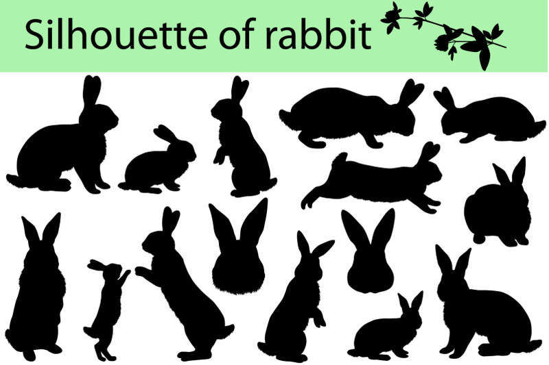 silhouette-of-rabbit
