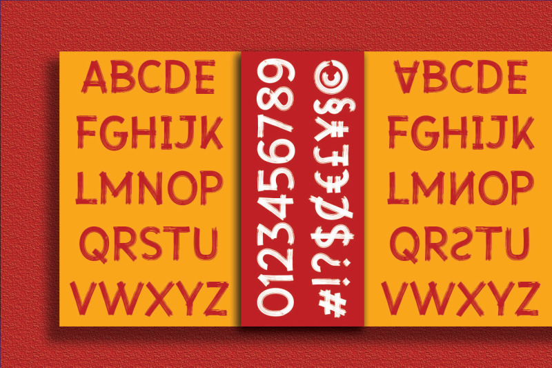 vanquish-sanbrush-font