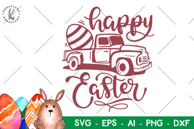 easter-svg-easter-truck-svg-happy-easter