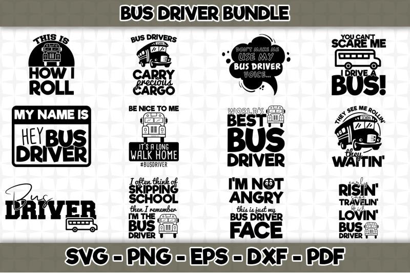 bus-driver-svg-bundle-12-designs-included