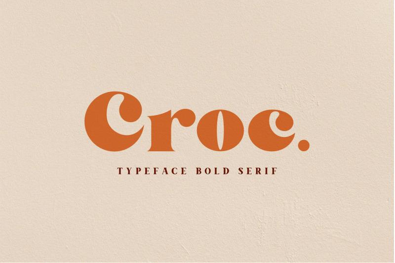 croc-typeface-bold-serif