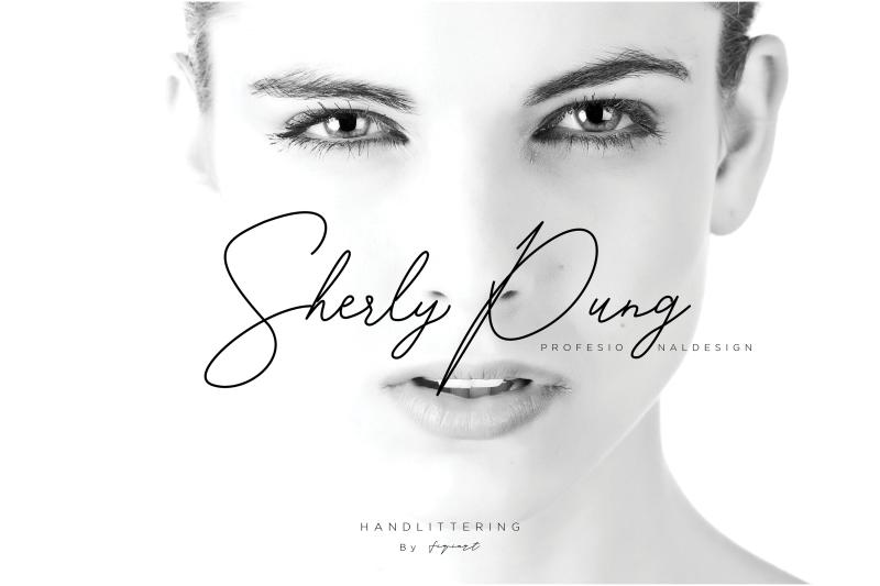 sherly-pung-font-signature