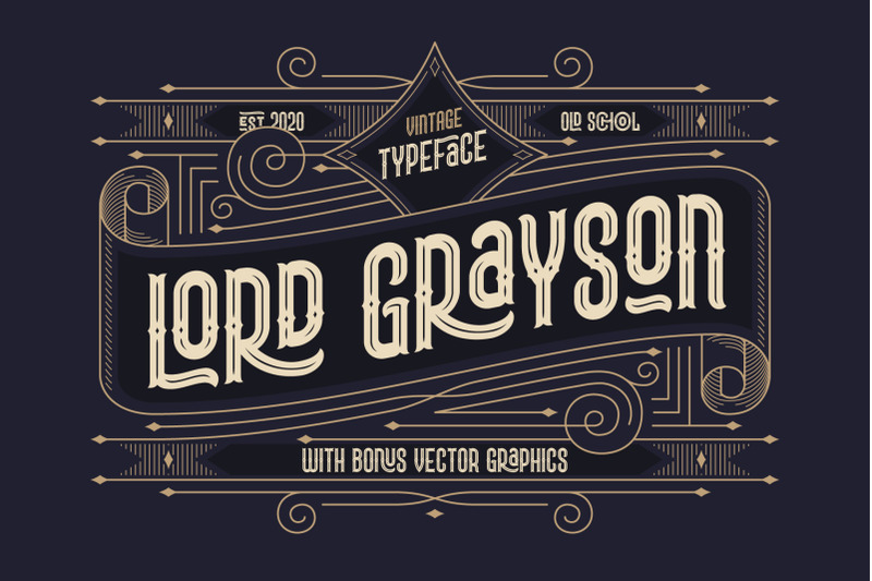 lord-grayson-font-and-template